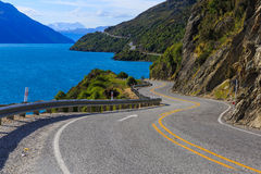 Road to Queenstown Royalty Free Stock Photography