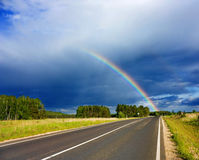 Road to the rainbow