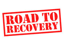 ROAD TO RECOVERY Stock Photography