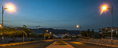 Road to the Red sea, Eilat, Israel Stock Photos