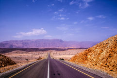 Road to redemption. Muscat off-road Royalty Free Stock Image