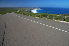 The road to Remarkable Rocks. Kangaroo Island Stock Photo