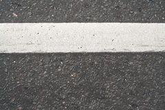 The road to the road markings Stock Images