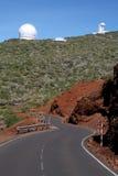 Road To Roque De Los Muchchos Royalty Free Stock Photo