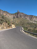 Road to Roque Nublo Royalty Free Stock Photos