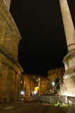 Road to the ruins of ancient rome Royalty Free Stock Photo