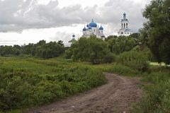 Road To Russian Orthodox Convent Vladimir Stock Photography