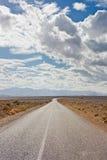 Road to Sahara Stock Photography