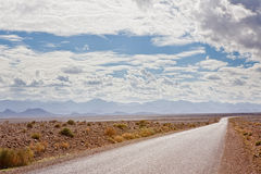 Road to Sahara Royalty Free Stock Images