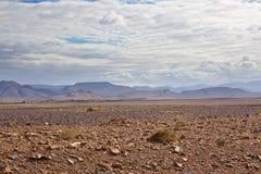 Road to Sahara Stock Photo