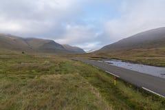 The road to Saksun, Streymoy, Faroe Islands Stock Photo