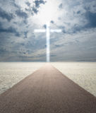 Road to Salvation royalty free stock photography
