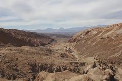 The road to San Pedro. De Atacama Royalty Free Stock Photo