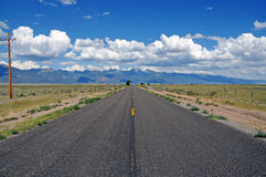 The Road to the Sangre de Cristo Range, Colorado, USA Stock Photo