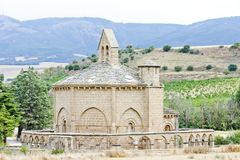 Road to Santiago de Compostela Royalty Free Stock Image