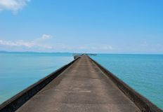 Road to the sea. Thailand, Koh Chang Stock Images
