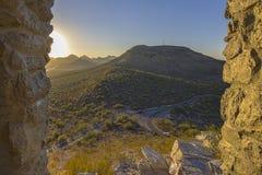 Free Road To Sentinel Peak, Tucson, Arizona Stock Image - 200984781