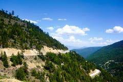 The road to Shangri-la Royalty Free Stock Photo