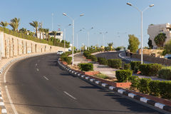 Road to Sharm El Sheikh Royalty Free Stock Photo