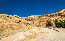 Road to the Siq at Petra Royalty Free Stock Photo