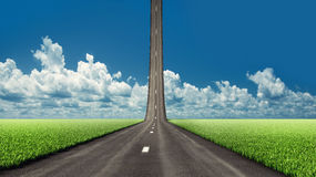 Road to the sky Royalty Free Stock Photo