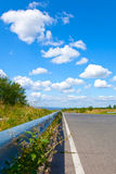 Road to  sky and clouds Royalty Free Stock Images