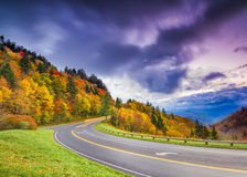 Road to the Smokies Stock Photography