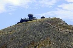 Road to Sniezka peak in Karkonosze mountains Stock Photo