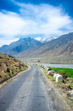 Road to Spiti Valley, Himachal Pradesh, India Royalty Free Stock Images
