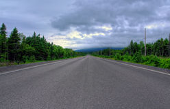 Road to St. Anthony, Canada Stock Images