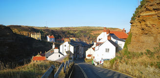 Road to Staithes Stock Photo