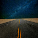 Road to star Stock Images