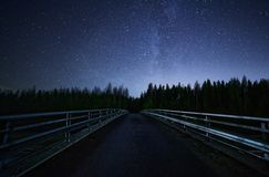 Road to Stars Royalty Free Stock Photography