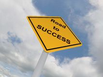 Road to Success Royalty Free Stock Photography