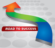 Road to Success Stock Photos