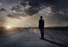 Road to success Stock Images