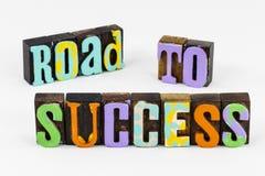 Road success challenge teamwork leadership skills performance achievement