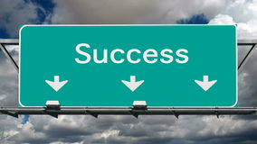 Road to Success stock footage