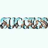 The road to success Stock Image