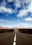 Road to success in motion Stock Photography
