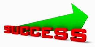 Road to Success - up Arrow Royalty Free Stock Photos