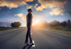 Road to success Stock Photo
