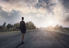 Road to success Royalty Free Stock Photos