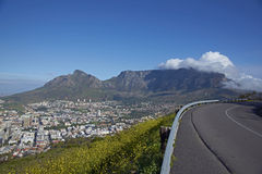Road to Table Mountain Stock Images