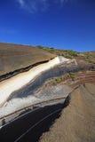 Road to Teide. Royalty Free Stock Photo
