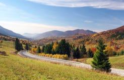 Road to Terchova village, Slovakia Royalty Free Stock Photography