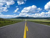 Free Road To The Mountains Stock Image - 111070671