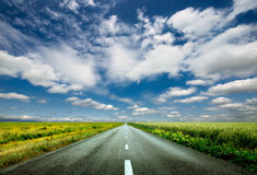 Free Road To The Sky Stock Photo - 55133310