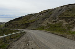 The road to Tierra del Fuego. Stock Photography