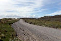 The road to Tierra del Fuego. Royalty Free Stock Photos